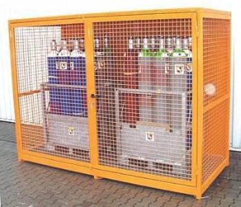 00600112 - Gasflaschen-Container für 48 St. Flaschen