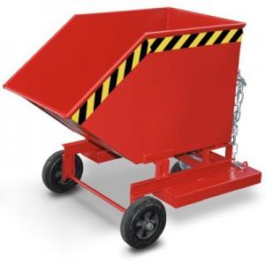 00600121 - Kastenwagen mit Einfahrtaschen 250l - 1000l