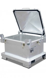 00600203 - Sonderabfall-Behälter aus Stahlblech 450l