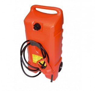 Kraftstofftrolley 53l, mit Handpumpe für Benzin und Aspen für den Kraftstofftransport