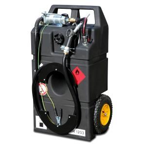 Kraftstofftrolley Ex0 für Benzin und Aspen, 95l, mit Hand- oder Elektropumpe