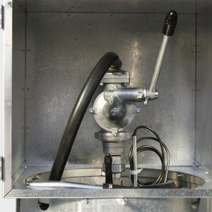 00800036 - Handpumpe für ein- und doppelwandige, mobile Diesel- Tankanlagen, DT-Mobil