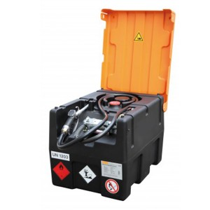 0080016202 - Mobile Benzin-Tankanlage 190l, KS-Mobil Easy, mit Handpumpe und Klappdeckel