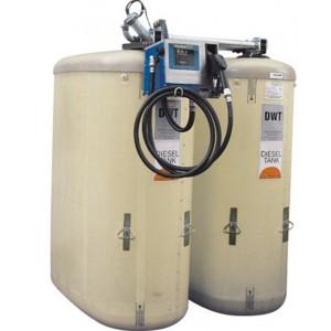 00800063 - Diesel-Tankanlage aus GFK, 4700 Liter