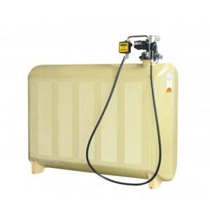 00800064 - Diesel- Tankanlage aus GFK 2000l, einwandig, Komfortpaket