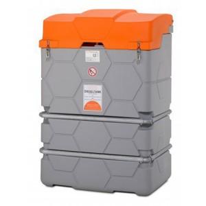 00800086 - Cube-Komplettstation Basic-Outdoor, Dieseltank 1000l - mit Klappdeckel