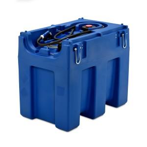00800088 - Mobile Tankanlage für AdBlue®, Blue-Mobil Easy 600l, mit Elektropumpe, Behälter mit Kranösen