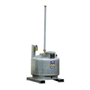 0080009902 - Mobiler Gefahrstoffsammler GS-MOBIL, 980l, für brennbare Flüssigkeiten