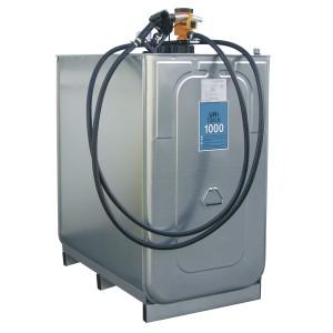 UNI-Einsteigerpaket, Fassungsvermögen 1000 l, doppelwandig, mit Pumpe 30l/min