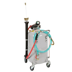 00800120 - Mobiles Ölabsauggerät, pneumatisch, 65l