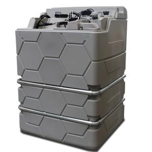 00800134 - Cube-Schmierstofftank Kompaktanlagen, Indoor oder Outdoor Version - 1.000l, 1.500l oder 2.500l, verschiedene Ausstattungen