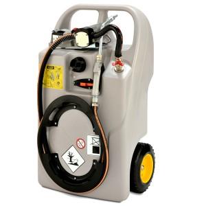 00800193 - Schmierstofftrolley mit Elektropumpe und LiFePO4-Akku