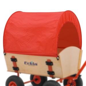 01300007 - Planen-Set für Eckla-Long-Trailer, uni-rot