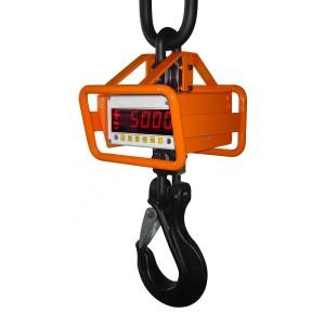 0140001701 - Digitale Kranwaage mit Rammschutz - geeichte Ausführung