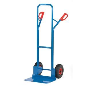 01600018 - Stahl-Sackkarre mit großer Schaufel, Tragkraft 300kg