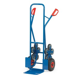 01600032 - Treppen-Sackkarre mit Fünfer-Radstern