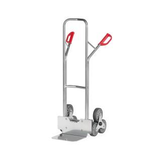 01600034 - Aluminium-Treppenkarre mit Dreier-Radstern
