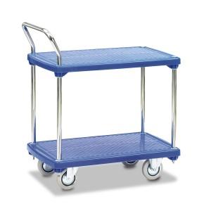 01600045 - Tischwagen mit zwei Ebenen aus Kunststoff