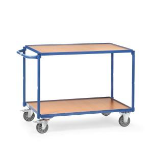 01600078 - Tischwagen mit zwei Ebenen und Schiebebügel