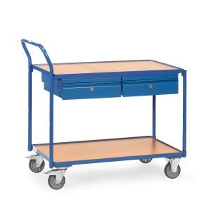 01600082 - Werkstattwagen mit zwei Ebenen, Tragkraft 250kg