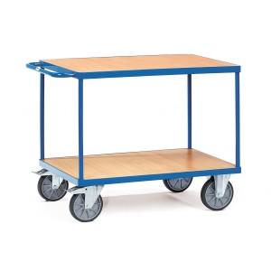 01600088 - Tischwagen mit zwei Ebenen und Schiebebügel