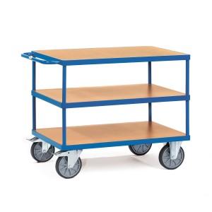01600089 - Tischwagen mit drei Ebenen, Tragkraft 500/600kg