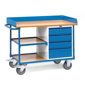 01600097 - Werkstattwagen mit Schubladen, Tragkraft 400kg