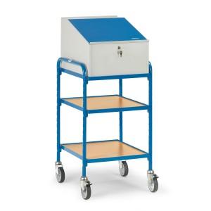 01600103 - Rollpult, abschließbar mit zwei Ebenen