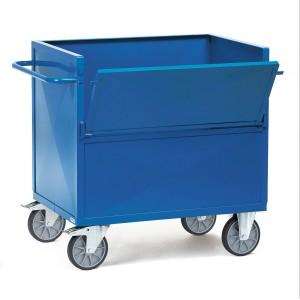 01600117 - Kasten- Transportwagen mit Stahlblechwänden