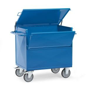 01600118 - Kasten- Transportwagen mit Stahlwänden und Deckel