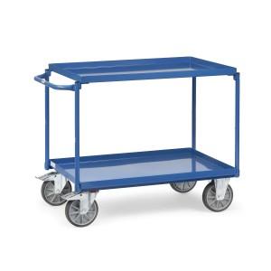 01600152 - Tischwagen mit zwei Ebenen und Schiebebügel