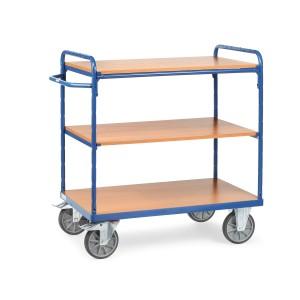 01600156 - Etagen- Transportwagen mit drei Ebenen und Schiebebügel