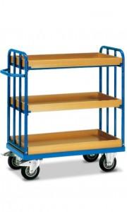 01600163 - Etagen-Transportwagen mit drei Ebenen, 400/500kg