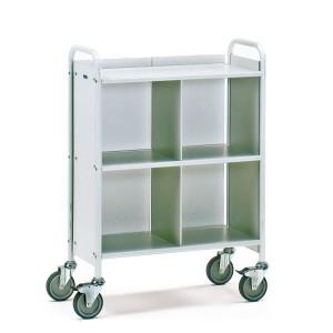 01600247 - Büro-Transportwagen mit drei Ebenen, Tragkraft 150kg