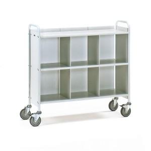 01600249 - Büro-Transportwagen mit drei Ebenen