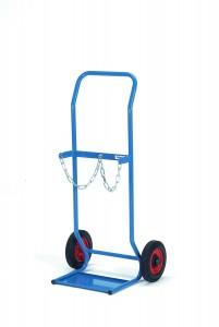 01600343 - Stahlflaschenkarre mit breiter Schaufel
