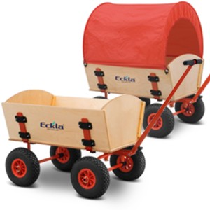 01300004 - Eckla Easy Trailer, 70 cm, mit Lufbereifung