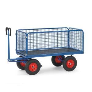 01600509 - Handpritschenwagen mit Drahtgitterwänden 600mm