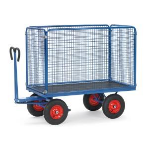 0160051006 - Handpritschenwagen mit Drahtgitterwänden 1000mm