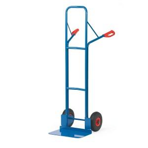 01600525 - Stahl-Sackkarre extra hoch, große Schaufel