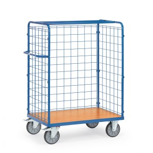 0160055201 - Paketwagen mit Drahtgitterwänden