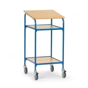 01600557 - Rollpult mit 2 Ebenen und einer Schreibfläche
