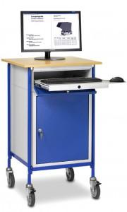 01600559 - Rollpult mit ausziehbarer Tastaturschublade und Stahlschrank