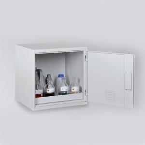 03200016 - Chemikalien-Abzugsunterschrank Bauhöhe 600mm, Schrankbreite 600mm
