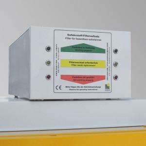 03200044 - Gefahrstoff-Filteraufsatz für Schränke nach EN 14470-1