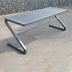 03800181 - Tisch feuerverzinkt und pulverbeschichtet