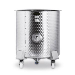 0500001701 - Edelstahlbehälter, Inhalt 530 Liter