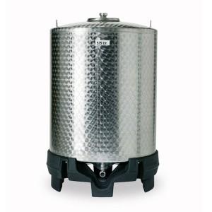 05000018 - Edelstahl- Lagerbehälter für Wein und andere Getränke