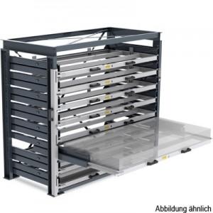 Regalsystem als Schubladen-Regal für die Lagerung von Blechen bis 1 ...