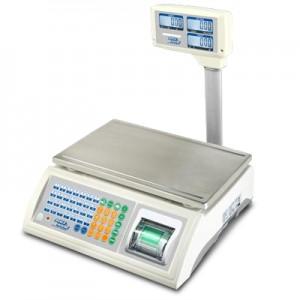 05900014 - Preisrechnende Zwei-Bereichs-Waage mit Stativ und Drucker